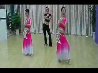 民族舞蹈视频大全 民族舞蹈教学分解动作《月亮》