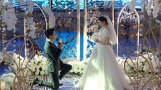 张猛在婚礼上向大叶求婚