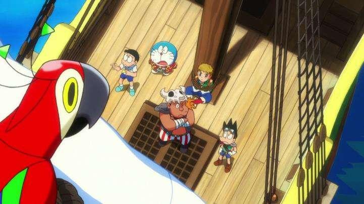 《哆啦A梦:大雄的金银岛》片段