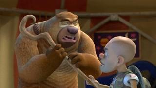 吉吉毛毛被淘汰 光头强熊二能成功救出熊大吗