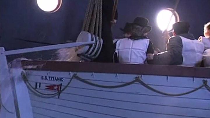 泰坦尼克号 花絮8:救生艇