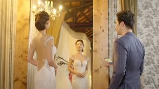 《我是顾家男》博仁向顾客介绍婚纱 最好的留在台北了