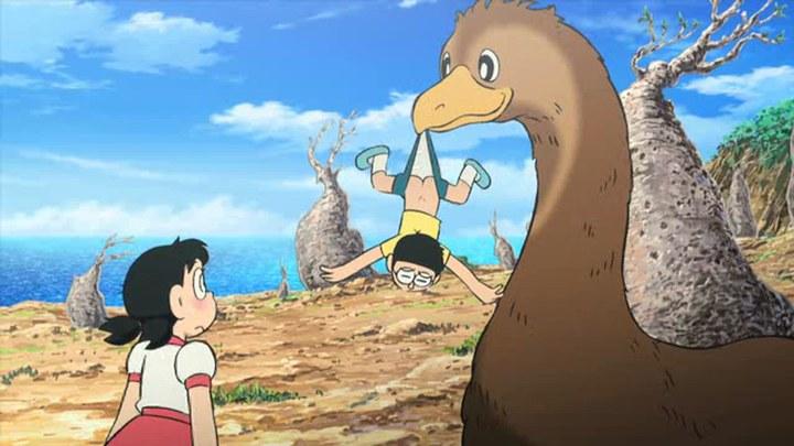 哆啦A梦:大雄与奇迹之岛 日本预告片1
