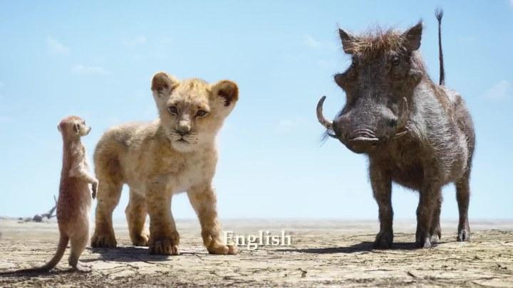 狮子王 MV1:《Hakuna Matata》