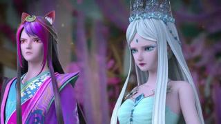 冰公主愿意把自己的仙力交给灵公主