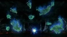 超银河传说 片段之怪兽复活