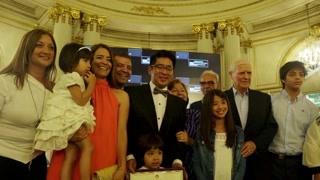 阿根廷市议会授予林文正文化杰出人士贡献奖