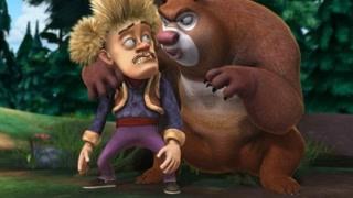 熊大光头强的赌约 强哥竟是森林舞王