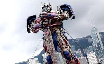 《变形金刚4》香港首映特辑 文化中心变IMAX影院