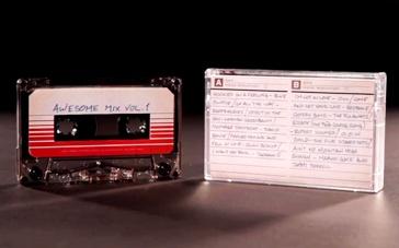 《银河护卫队》周边特辑 原声大碟磁带形式发售