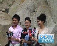 《完美丈夫》发布会抢先报采访杜俊泽洪小玲晨辰