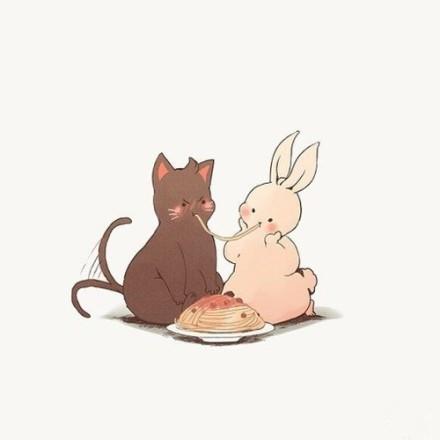 表情 喊着胖砸的兔子表情包 兔子咬耳朵表情包 兔子咬圆头表情包 兔子简笔画  表情