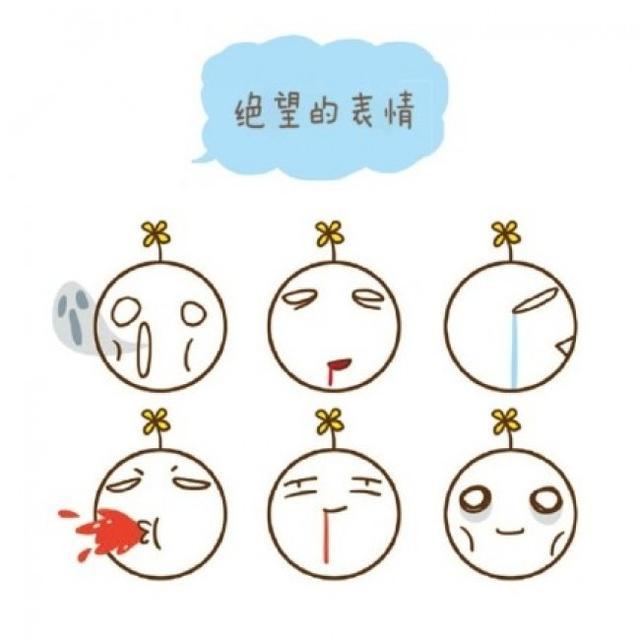 表情 简笔画小表情大合集,各种常见表情的简笔画法 雪花新闻 表情图片