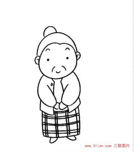 表情 老奶奶最简笔画图简笔画动态图老奶奶儿童画简笔图片简笔画表情图中国地图  表情