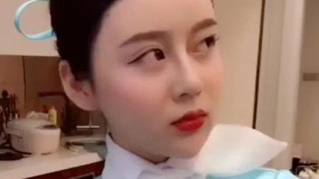 表情 美女空姐, 谁惹你生气了 美女空姐,谁惹你生气了 短视频聚合网 表情图片