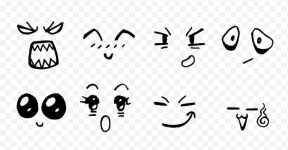 表情 手绘表情 好看萌的简单手绘表情 手绘小表情简单画法 手绘开心小表情简单  表情图片