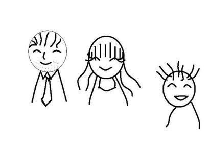 表情 人物面部遗憾表情简笔画 第3页 一起QQ网 表情图片