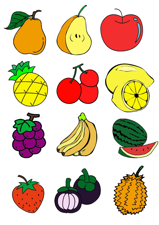 表情 水果卡通简笔画大全 卡通简笔画大全 就要健康网 表情