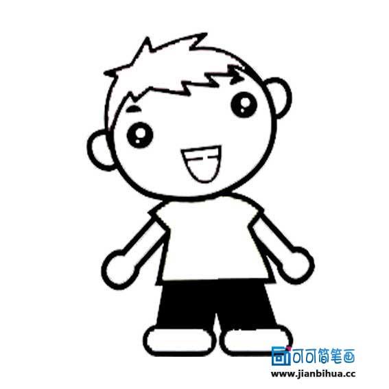 表情 简笔画小男孩图片画小男孩的简笔画小男孩简笔画图片大全简笔画