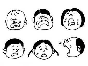 表情 简笔画表情 伤心简笔画的画法 爆爆简笔画 表情