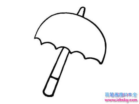 表情 怎么画幼儿小雨伞简笔画的教程 雨伞简笔画 儿童简笔画图片大全 表情