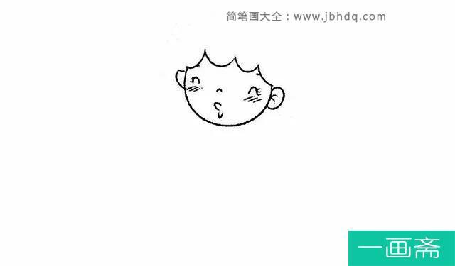 表情 儿童入门儿童简单画拿着风车小女孩简笔画图片 画法 小女孩简笔画  表情