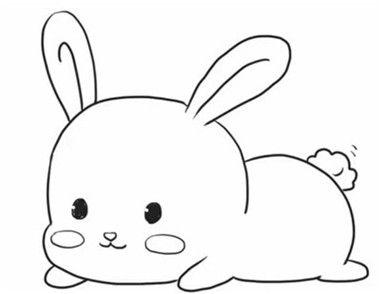 表情 图 萌萌哒的小兔子简笔画 表情