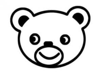 情 呆萌卡通熊简笔画 头像图片表情包大全 表情