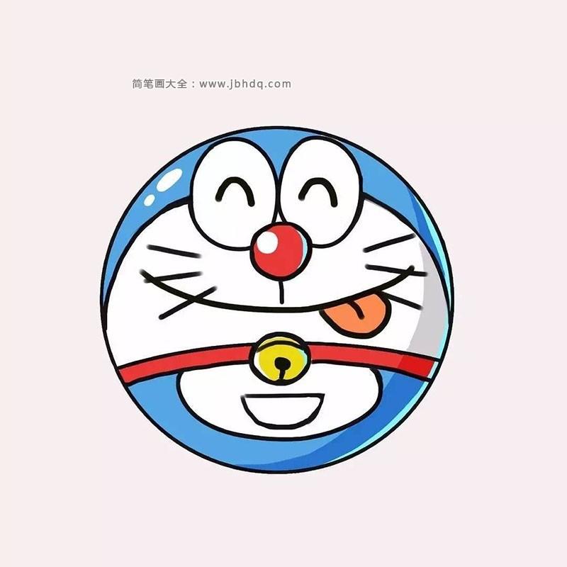 表情 9张叮当猫的表情简笔画图片 海绵宝宝 简笔画大全 表情