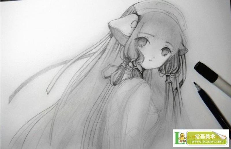 表情 人物漫画图片铅笔画美丽 表情