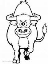 表情 牛简笔画图片大全 第5页 奶牛牛魔王公牛牦牛水牛小牛牛儿黄牛简  表情