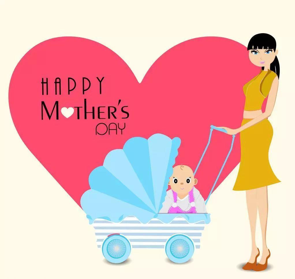 祝天堂的母亲们,节日快乐!