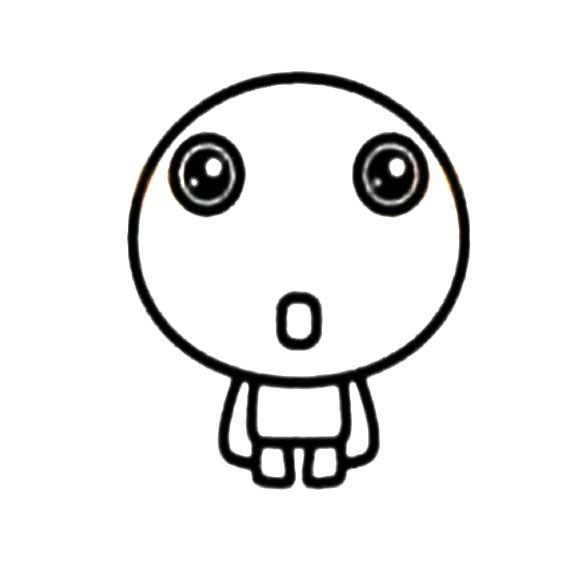 表情 超萌Q版卡通人物简笔画 2 卡通简笔画 奔跑网 表情