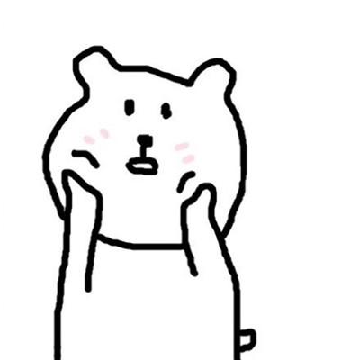 表情 简笔呆萌表情 呆萌卡通龙猫简笔画 呆萌动漫人物简笔画 呆萌小熊猫简笔画  表情