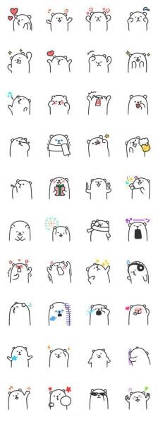 情 可爱表情包简笔画 表情包简笔画图片 表情