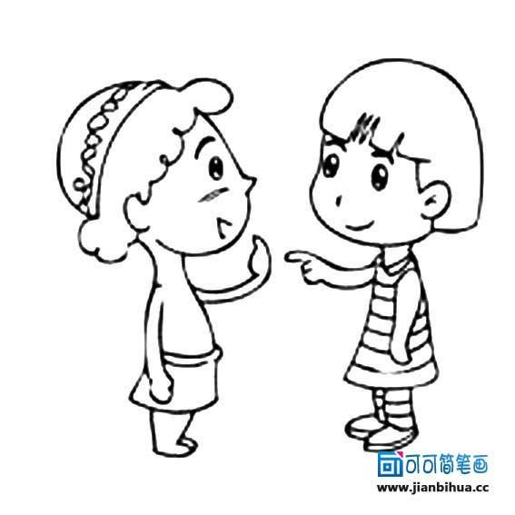 表情 可可可简笔画 www.jianbihua.cc 表情