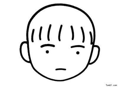 表情 没有面部表情女孩简笔画 第2页 一起QQ网 表情