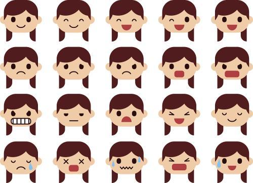 表情 关于人害怕的表情的画 害怕的人物表情简笔画 害怕的表情简笔画