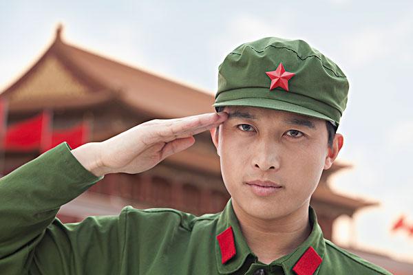 表情 最帅军人敬礼图片 图片大全 表情