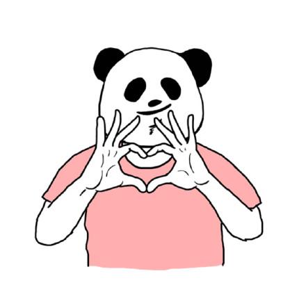 表情 比心手势简笔画 比心手势简笔画画法 表情图片