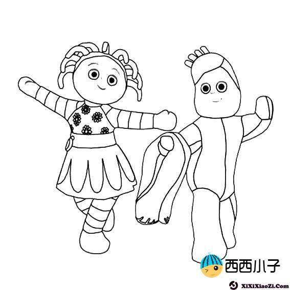 表情 花园宝宝简笔画主题图片大全 格格 表情