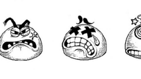 表情 夸张笑脸搞笑简笔画内容图片展示 夸张笑脸搞笑简笔画图片下载 表情