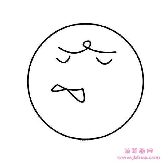 表情 可爱的表情简笔画大全 简笔画网 表情