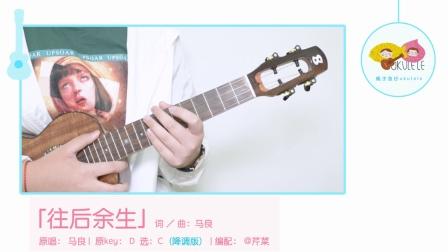表情 往后余生吉他谱 图片谱,弹唱,伴奏,C调 马良 表情