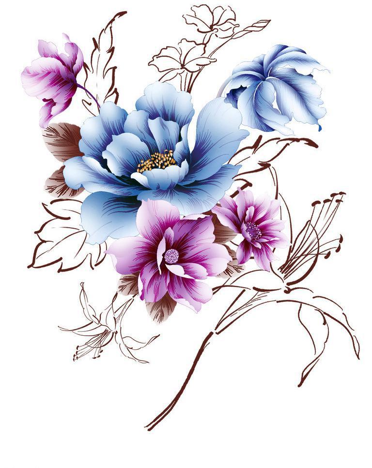 表情 手绘花卉图片,高清图片,免费下载 绘艺素材网 表情图片