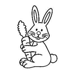 表情 小兔子头简笔画 小兔子头 小兔子简笔画彩色 兔子头简笔 虾米网 表情