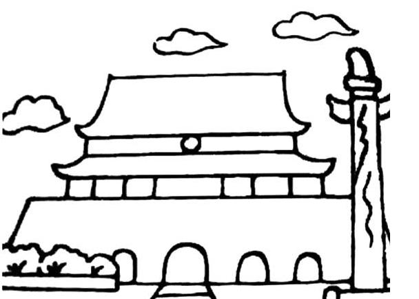 表情 国庆节的简笔画图片大全 欢庆国庆节 3 5068儿童网 表情