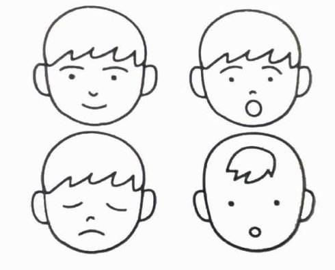 表情 人表情图简笔画 18张 表情图片 表白图片网 表情