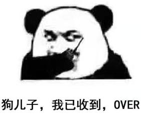 狗儿子,我已收到,OVER-表情 别斗图了,现在流行斗鸡汤文 搜狐动