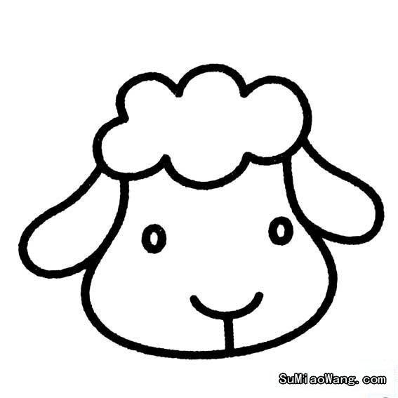 表情 各种小动物头像画法 幼儿简笔画素材 素描自学网 表情
